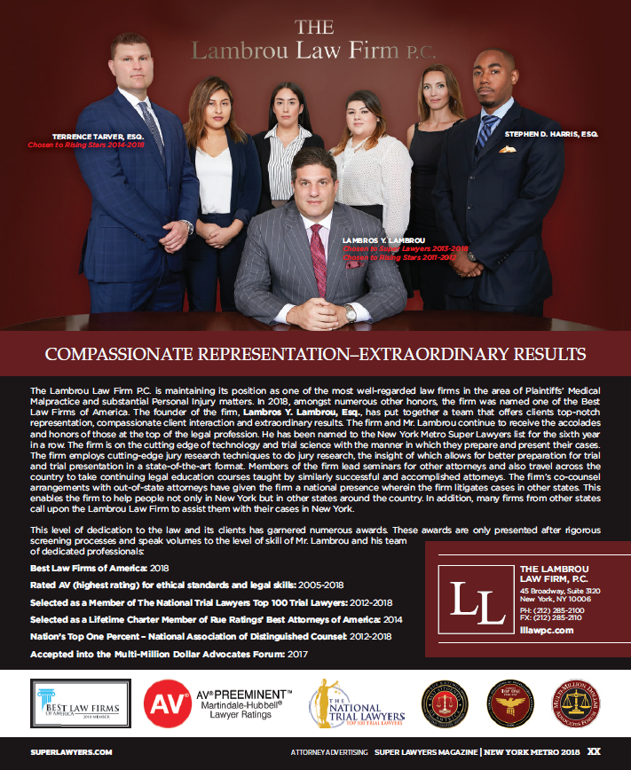 The Lambrou Law Firm P.C.